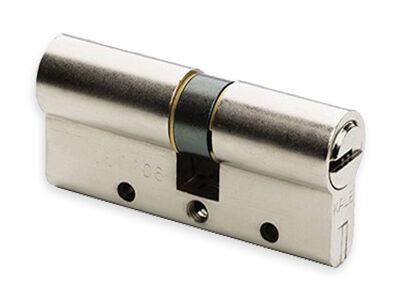 Kale Kilit - Bilyalı Çelik Takviye Silindir 68mm - Nikel