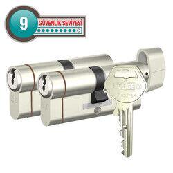 Gege pExtra Plus - dormakaba Gege pExtra Plus Biri Mandallı İkili Pas Sistem Barel Çelik Kapı Kilit Göbeği (68 - 71 mm)