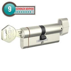 Gege pExtra Plus - dormakaba Gege pExtra Plus Mandallı Barel Yüksek Güvenlikli Çelik Kapı Kilit Göbeği (68-71 mm)