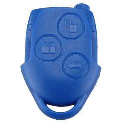 Ford - Ford Transit Anahtar Kabı 3 Butonlu Mavi