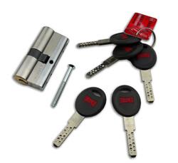 Kale Kilit CEC Tüpten Şifreli Silindir 68mm Kumlu Nikel 5 Anahtarlı 164CEC00004 - Thumbnail