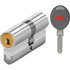 Kale Kilit - Kale Kilit CEC Tüpten Şifreli Silindir 68mm Kumlu Nikel 5 Anahtarlı 164CEC00004