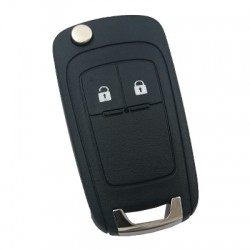 Opel - Opel Astra J 2 Buton sustalı Anahtar Kabı