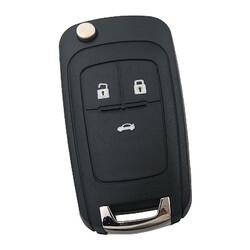 Opel - Opel Insignia 3 butonlu sustalı Anahtar Kabı