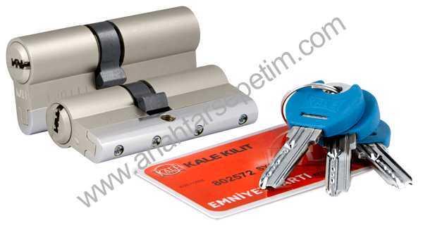 Yüksek Güvenlikli Sistem Silindir Emniyet Kartlı - Nikel - 164YGSSE0003