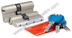 Yüksek Güvenlikli Sistem Silindir Emniyet Kartlı - Nikel - 164YGSSE0003 - Thumbnail